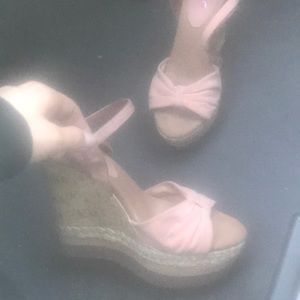Size 7 1/2 wedge sandals